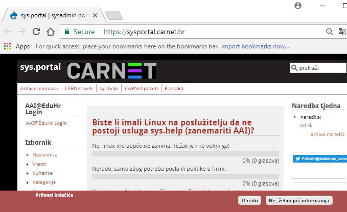 Primjeri web stranica za pronalaženje stranica