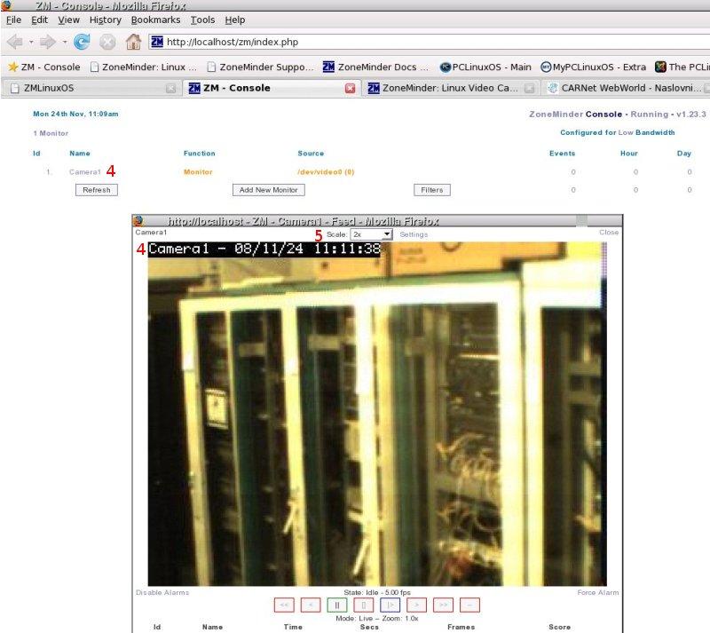 ZoneMinder - Sustav za nadzor   sys portal
